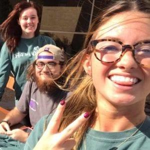 Pro-Life students at Abilene Christian University; ACU for Life