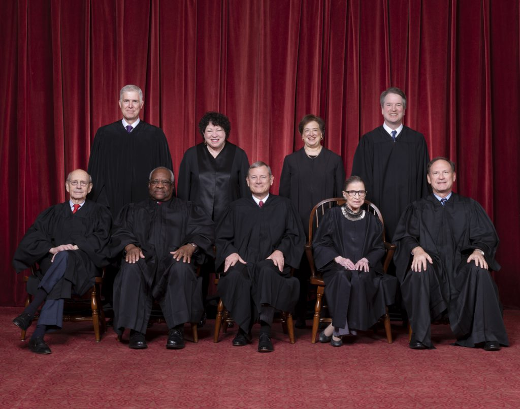 Photograph by Fred Schilling, Supreme Court Curator's Office.