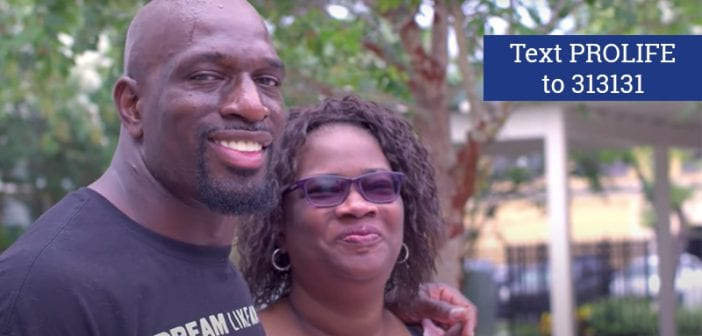 Mother of WWE superstar Titus O'Neil chose Life at age 11 after rape