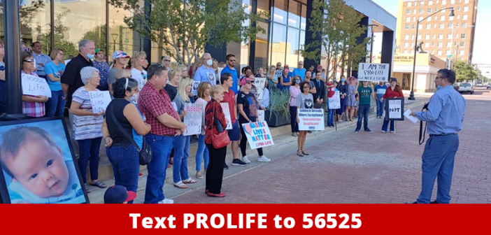 Pro-Life Citizens File Petition Forcing Lubbock City Council to Act on Pro-Life Ordinance