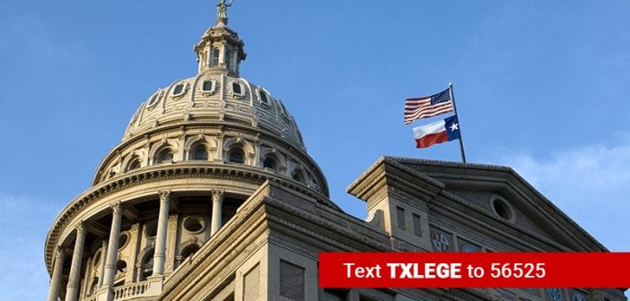 Texas Legislative Session Begins; Pro-Life Advocates Set Sights on Priority Agenda