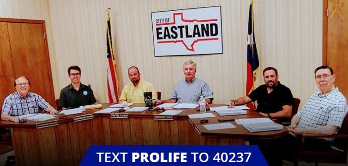 Eastland UNANIMOUSLY Passes Sanctuary City for the Unborn Ordinance